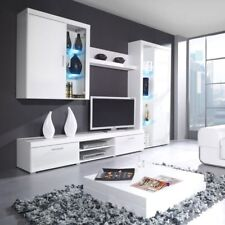 Elegante Anbauwand Samba III ! Wohnzimmer-Set Möbel ! Wohnwand! Schrankwand!