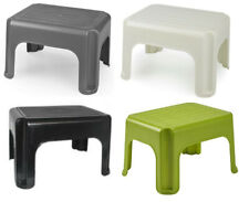 Step Stool DIY Stool Available In Black / Silver / Cream / Green 38 x 30 x 24cm