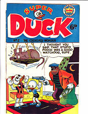 """Super Duck No 2 1960's Austrailian - """"Hold Up Cover! """""""
