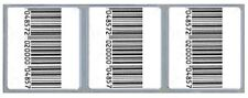 2,000 Checkpoint® Comparable Rf 8.2 Mhz Labels 33x38cm size, Fake Barcode