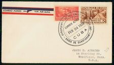 HABANA COMMERCIAL 1939 COVER TO WESTFIELD MA USA kkm76739
