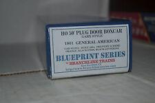 Branchline 1801 General American 50' Plug Door Box Cars HO Scale Kit