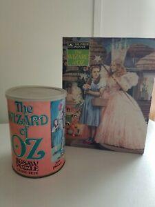Wizard Of Oz Puzzles (2) Vintage New Dorothy/Glinda 100 piece-used 200 piece