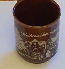 4er Set Tassen / Becher / Glühwein / Weihnachtsmarkt