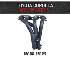 Headers / Extractors for Toyota Corolla 1.6L 4AFE AE90-AE101 (1989-1999)