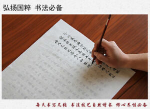 Chinese calligraphy Xuan Paper copybook Rice Papers 小楷毛笔字帖入门临摹