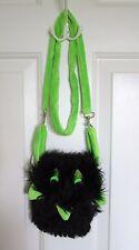 Woman's Rave Wear Faux Woobie Satchel fantasy wear costume props lady gaga bag