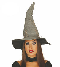 Adult Grey Witches Hat Traditional Witch Sorting Halloween Costume Fancy Dress