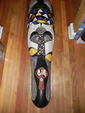 "Arts of Africa - Fang Mask - Cameroon - 46"" Height x 13"" Wide"