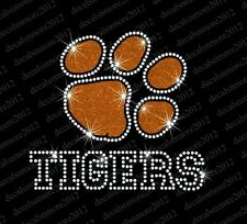 Clemson University Tigers - Bling - Iron-on Rhinestone Transfer