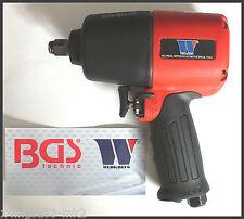 BGS-Werkzeug-Hi Torque Compacto 1/2 Pulgada Aire impacto Pistola 1600 Nm-Vida, 2114