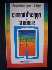 """""""Comment développer sa Mémoire"""" / Patrick de Sainte-Lorette & Jo Marzé - 1990"""