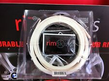 """RIMSKINS-4X WHITE 20"""" DUABLE PROTECTION FOR YOU RIMS-MAGS COVERS WHEEL DAMAGE"""
