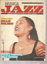 MUSICA JAZZ BILLIE HOLIDAY OTTOBRE 10 1984 ARRIGO POLILLO