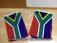 Fahnen Flagge Flaggenkette Neu Südafrika 6 Meter Lang