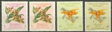 Colombia 1960 Orchids Extra Rapido 5c & 10c essays
