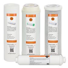 Osmose-Filterset Universalfilter passend 10 Zoll incl. Nachfilter!