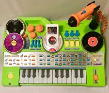 Kidijamz Studio Vtech Learning Keyboard Mic Music Dj Mp3 Recorder Green Used