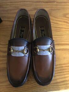Gucci 1953 Horsebit Brown Loafer,  UK Size 11; US 11.5