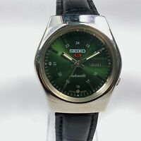 Vintage Seiko Automatic Movement Day Date Dial Mens Wrist Watch CA233