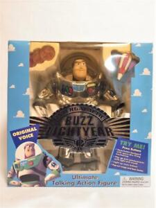 Toy Story First Buzz Lightyear Black Silver Talking Figure