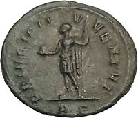 Carinus  as Caesar with globe and spear 282AD Rare Ancient Roman Coin i52851