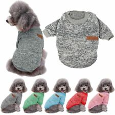 Warm Clothes for Pet Sweater Chihuahua Yorkie Small Dog Coat Jacket Fleece 2020