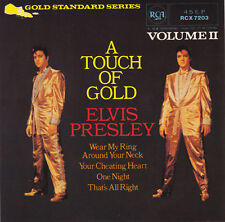 "ELVIS PRESLEY - A Touch Of Gold Vol 2  EP  7"" 45"