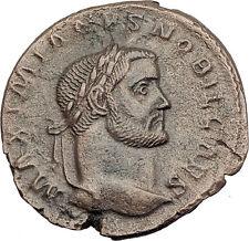GALERIUS 298AD Trier Follis Authentic Ancient Large Roman Coin GENIUS i63197
