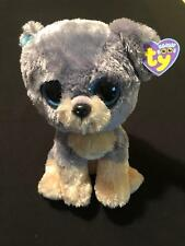 "Ty Beanie Boos ~ SCRAPS the 9"" Schnauzer Dog Buddy ~ 2010 ~ MINT with MINT TAGS"