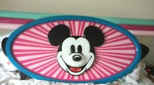 ORIGINAL DISNEY STORE MICKEY MOUSE WALL HANGING / STORE DISPLAY  - 7FT 6 INCHES