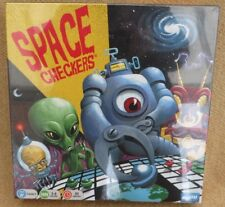 Space Checkers Alien Invaders Board Game Age 6