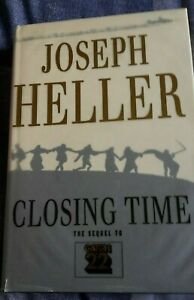 Closing Time (The Sequel to Catch 22) by Joseph Heller - Hardback, 1994, 1st Ed.
