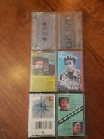 Lot of 6 Country Music Cassette Tapes Garth Brooks, Willie Nelson Marty Robbins