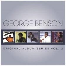 GEORGE BENSON - ORIGINAL ALBUM SERIES VOL.2 5 CD NEU