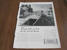 3 VINTAGE ORIGINAL 1941 INSURANCE ADS LIFE MAGAZINE