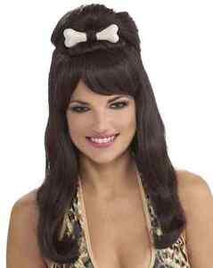 Prehistoric Princess Wig Cave Fancy Dress Halloween Costume Accessory 2 COLORS