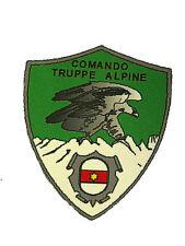 Patch Militare Esercito Italiano Comando Truppe Alpine Stampata Scudetto  Velcro 5b5a102e1279