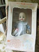 "Vintage IDEAL 15-1/2"" 1983 Betsy Wetsy Doll in Original Box"