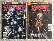 Samuree #4 #5 Bundle Series Rare Original VTG (Jan 1994, Continuity)