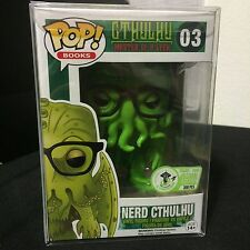 FUNKO POP 2016 ECCC NERD CTHULHU MASTER OF R'LYEH EXCLUSIVE 300 PCS RARE