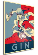 Poster Propaganda - Bleach - Gin Ichimaru