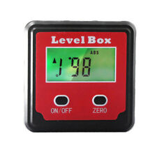 Electronic LCD Digital Tilt Measuring Protractor Angel Gauge Magnetic Base Tools