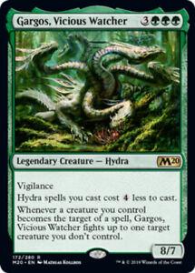 Gargos, Vicious Watcher x4 Magic the Gathering 4x Magic 2020 mtg card lot