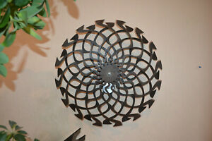Kinetic Sculpture Lotus 2.0 Magical spin without electricity 5+ hours