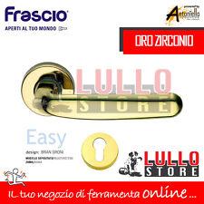 "Frascio Maniglia ""easy"" C/rosetta inox Brass"