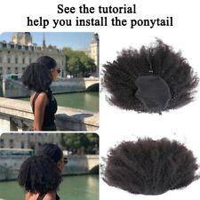 Kinky Human Hair Ponytail 16