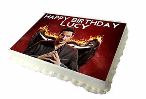 Lucifer Birthday Cake Topper