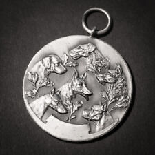 Medaille , Luxemburg , Hunde , A.C.P.G. Belvaux - Soleuvre 1961 , Luxembourg