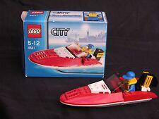 Lego City, Stadt Auto Speed Boot Set #4641